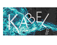 Kabel Typeface Poster