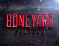 Boneyard canteen Title Treatment.