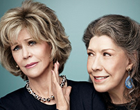 Grace and Frankie Title Design