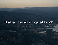 Audi | Italia. Land of quattro | Commercial