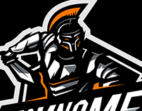 'Gladiator' Mascot logo for sale
