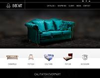 EverArt - Luxury Furniture Website