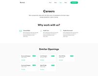 Career Page UI KIT