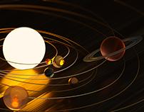 Solar System - CGI / Cinema 4D + OctaneVR