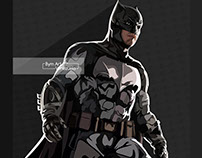 The new Batman process illustration