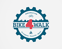 Diseño de Marca y naming | Bike4Walk
