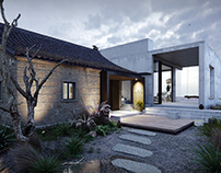 Rural House Renovation in Zhoushan (Repro) - CGI
