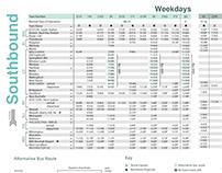 Redesign of Amtrak Train Schedule
