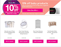 Nursery Furniture Landing Page