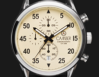 Camber Watches Branding