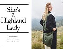 She´s a Highland Lady - Solstice Magazine UK