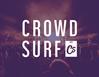 Crowd Surf • Rebrand