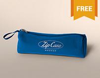 Free Pencil Case Mockup
