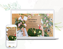 E-commerce for flowershop II