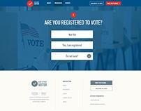Gunsense Voter Registration App