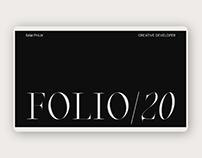 Sam Phlix - FOLIO/20
