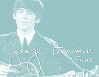 George Harrison Font (Free)