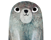 Happy seal