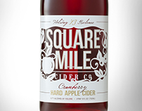 Square Mile Cranberry Holiday Cider