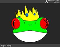 Royal Frog Logo & Process(sketches)