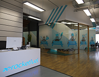 Rocket Fuel Glass Boardroom