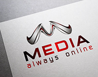 3D Media Online - M Logo