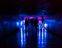 Audiovisual light installation - Tallinn Music Week