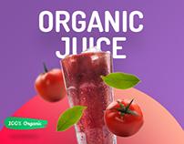 Organic Juice - 10 Premium Templates + Freebie