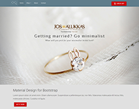 Jewelry eCommerce Website UI -  Material Design