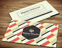 Pattern Style Business Card