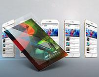 Neo News Publishing Mobile App UI/UX