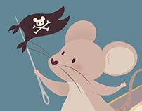 Mouse Warrior   illustration