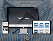 Website & branding | Artisan shirts
