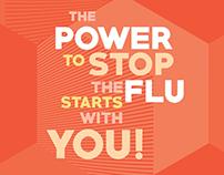 Kaweah Delta Internal Flu Campaign