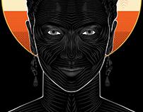 Westworld (Maeve)- Vector Poster