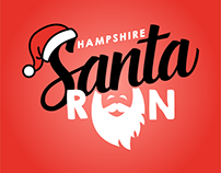 Hampshire Santa Run logo