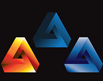 Illustrator training - Penrose Triangles