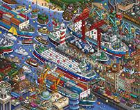 Nabeshima coastal shipping company
