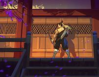 OverWatch: Hanzo Shimada