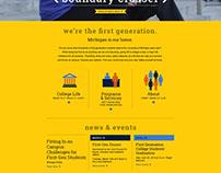 First Generation Website
