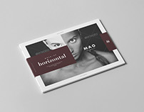 A4 Horizontal Magazine Mock-up 3