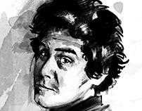 Portrait, Face, Digital Drawing