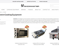 Web Design, Snowmaster Catering Equipment