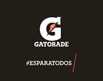 GATORADE - #ESPARATODOS