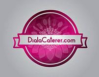DialaCaterer.com; Complete Branding