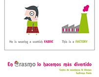 Flyer Erasmo Idiomas