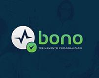 Logotipo Bono Treinamento Personalizado