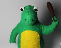 Dino plush