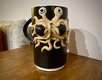 Flying Spaghetti Monster Custom Mug