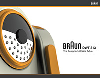 DWT-313 - Braun Inspired Walkie Talkie